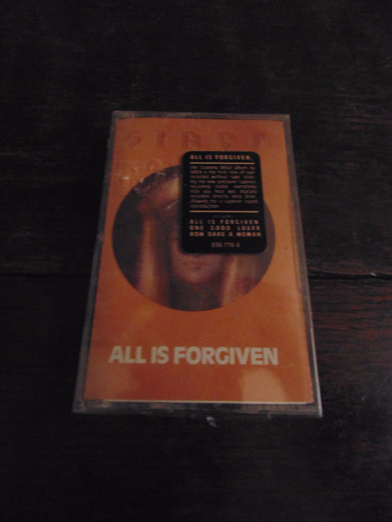 Siren Cassette, All is Forgiven, NEW, Sealed w/ Sticker