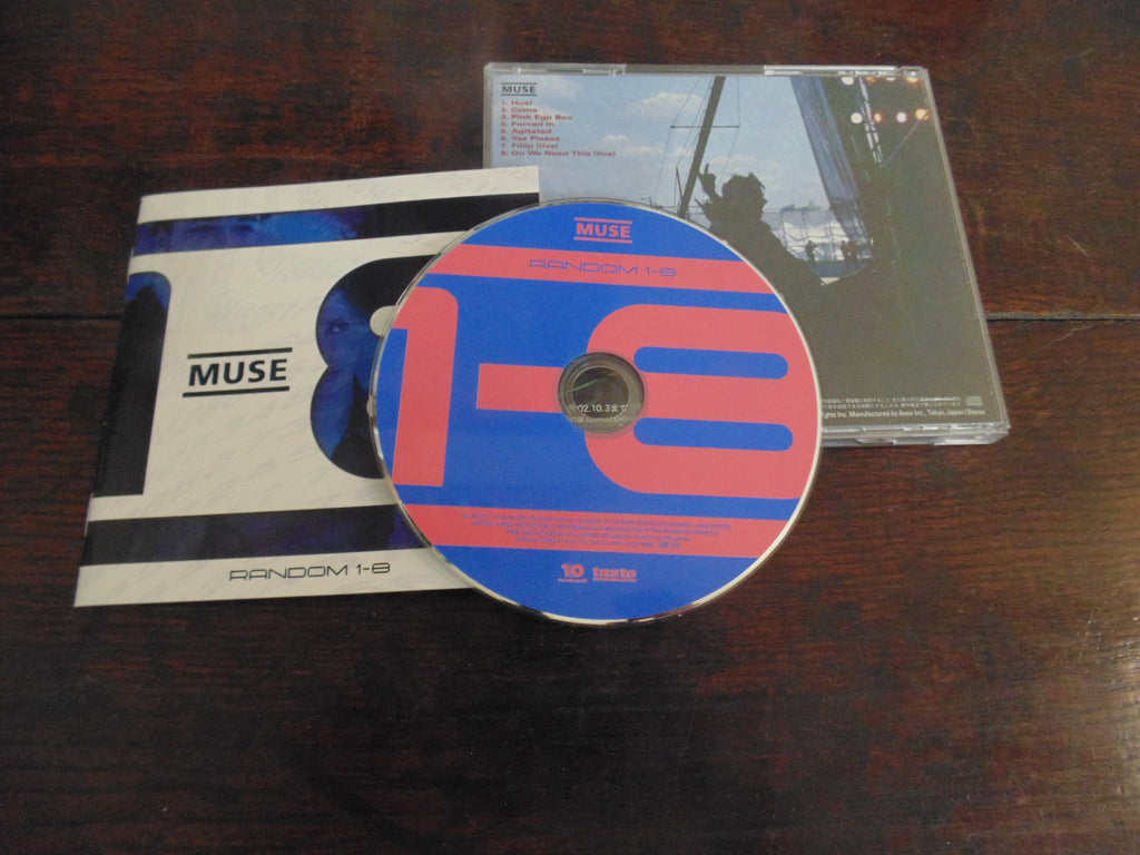 Muse CD, Random 1-8, Japanese Import