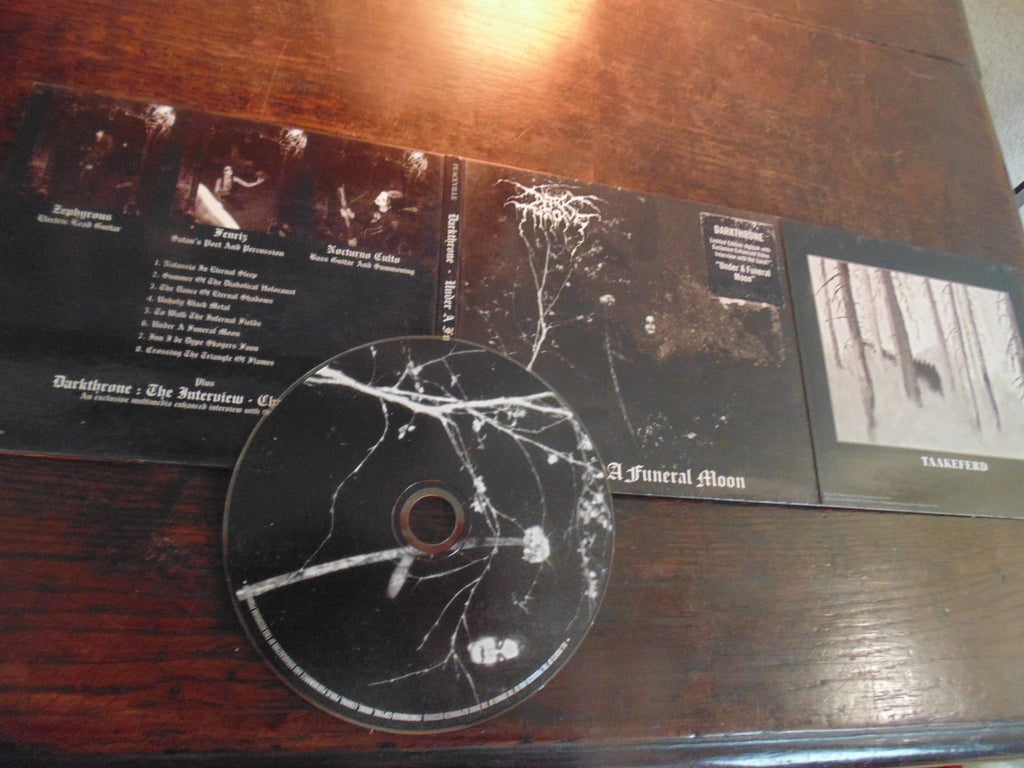 Darkthrone CD, Under a Funeral Moon, 2003 Peaceville