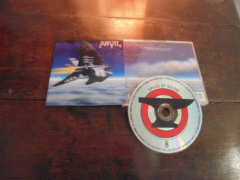 Anvil CD, Speed of Sound, 2000 Hypnotic Records Pressing