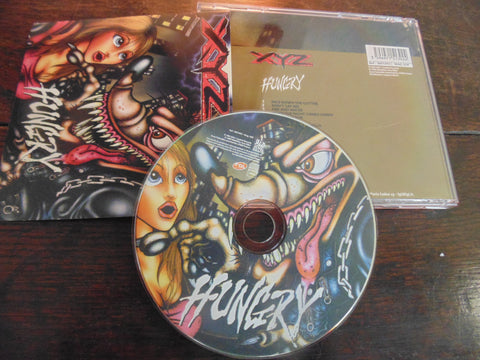 XYZ CD, Hungry, Import, 1999, Remastered, Bonus Track, Great White