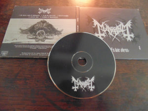 Mayhem CD, Wolf's Lair Abyss, Digi-case, Misanthropy Records, Import, 1997