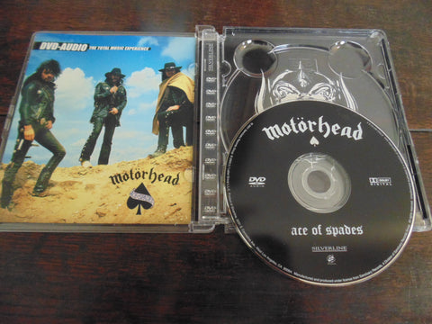 Motorhead DVD Audio, Ace of Spades, Surround,