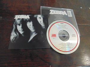 Zebra CD, Self-titled, S/T, Same, GENTLY USED, looks new