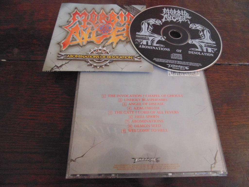 MORBID ANGEL ABOMINATIONS OF DESOLATION CD 1991, Original