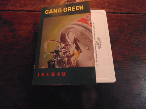 Gang Green Cassette, I81B4U - 1989 Roadracer Records