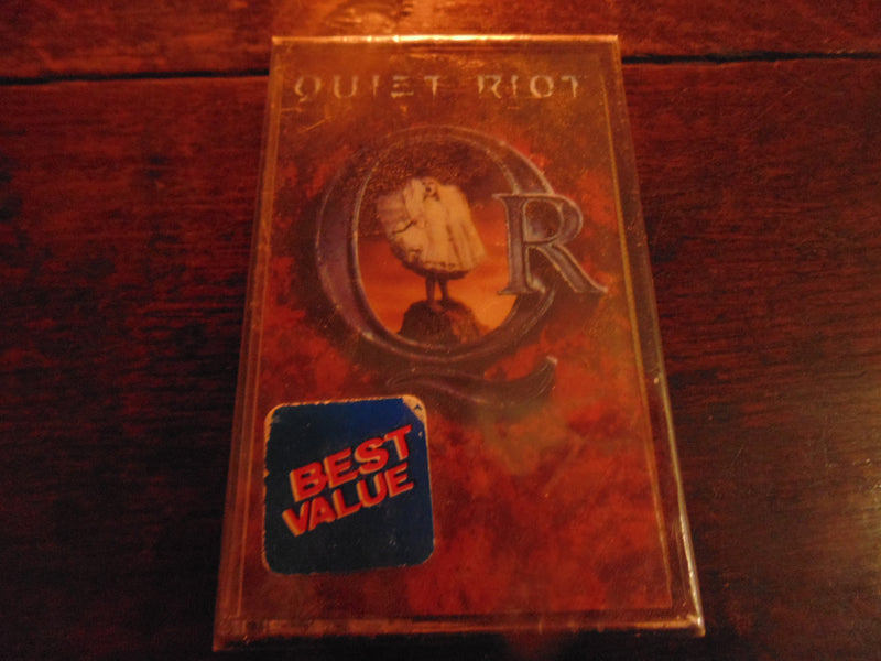 Quiet Riot Cassette, Self-titled, S/T, Same, NEW, Factory Sealed