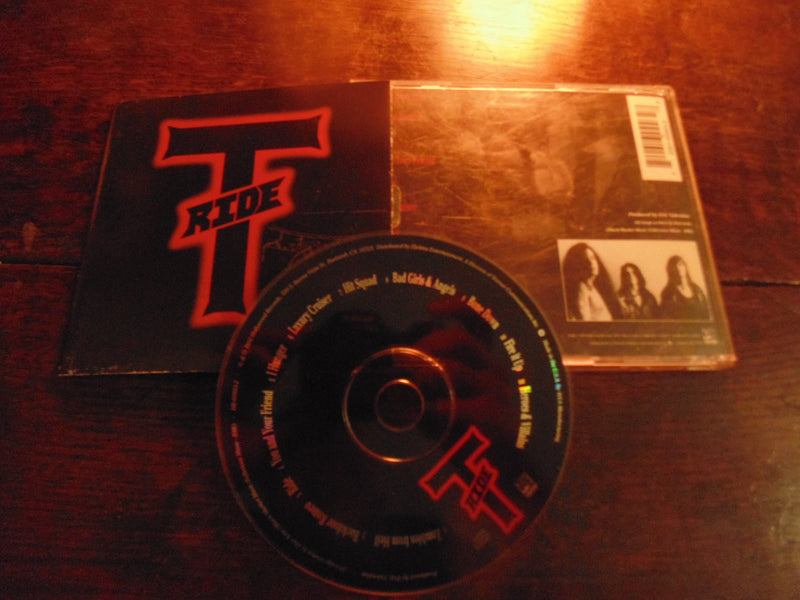 T-Ride CD, Self-titled, S/T, Same, Joe Satriani, Original Pressing
