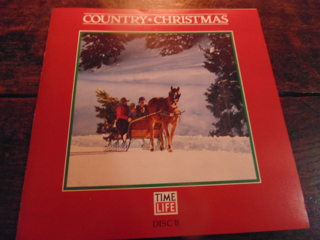 Country Christmas CD, Time Life, Yoakam, Willie Nelson, Elvis, Strait, 1 Disc Only