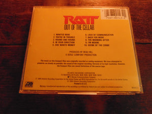 Ratt CD, Out of the Cellar, Early Pressing, Stephen Pearcy