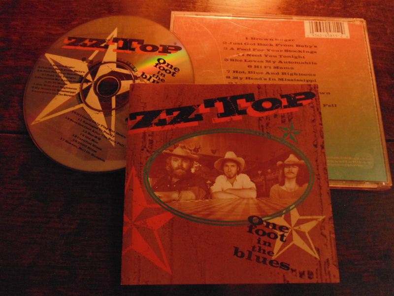 ZZ Top CD, One Foot in the Blues... 1994 Pressing