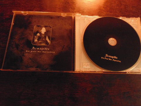 Armagedda CD, The Final War Approaching, Merciless