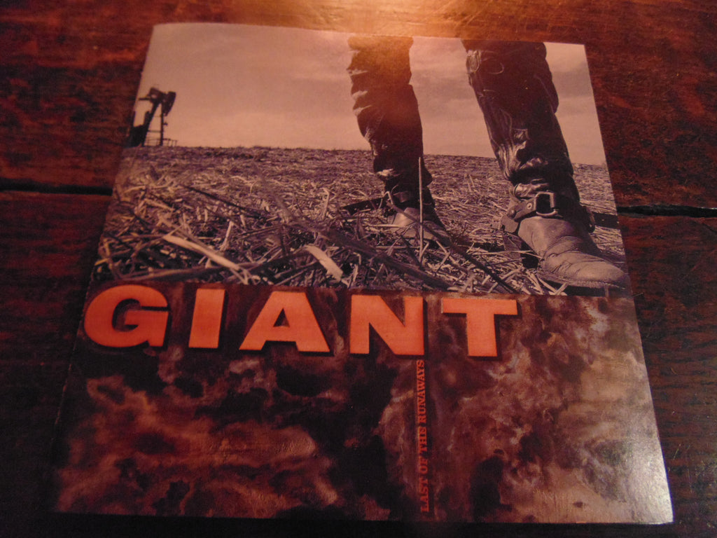 Giant CD, Last of the Runaways, Original 1989 Pressing