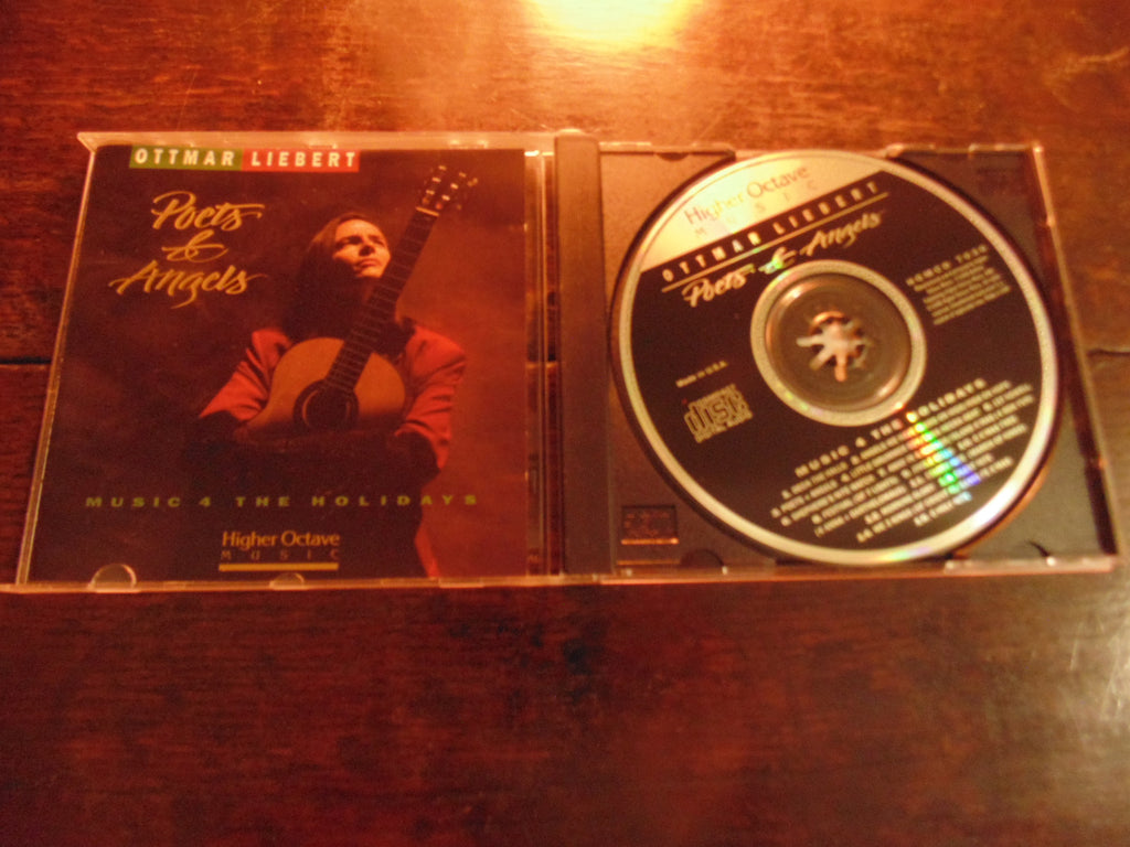Ottmar Liebert CD, Poets and Angels, Christmas, Holiday