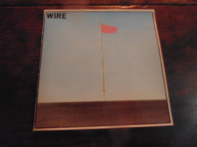Wire CD, Pink Flag, 1989 Restless Pressing