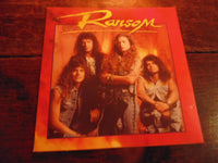 Ransom CD, Self-titled, S/T, Same, 1991 Intense Records