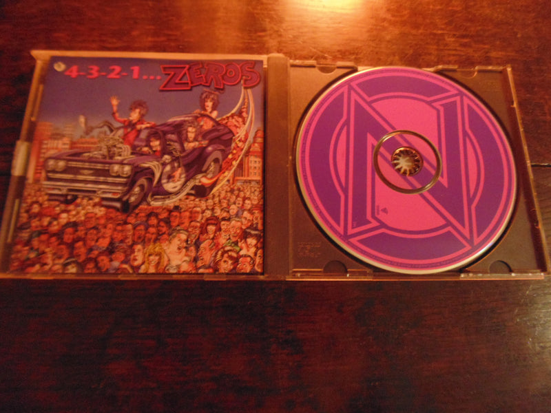 Zeros CD, 4,3,2,1, 1991 Restless Records