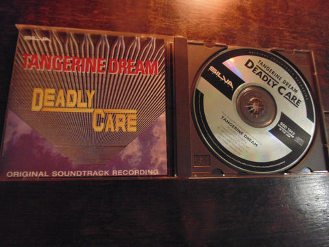 Tangerine Dream CD, Deadly Care, Original Soundtrack Recording