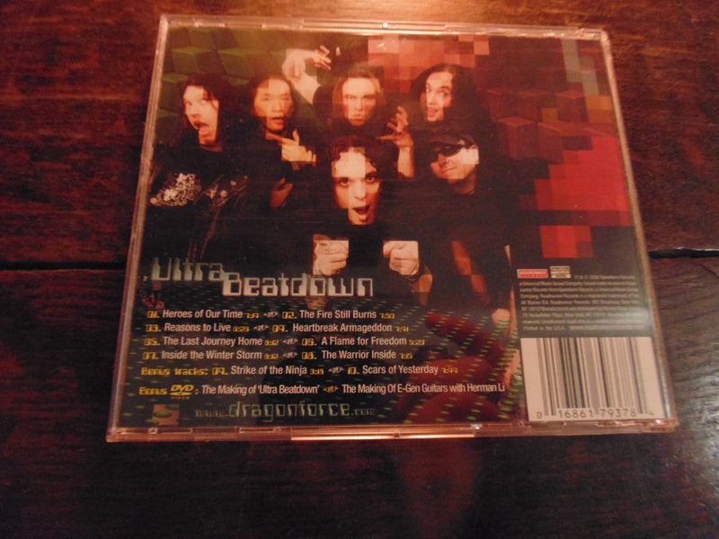 Dragonforce CD, Ultra Beatdown, CD / DVD, NO Slipcase, Skid Row
