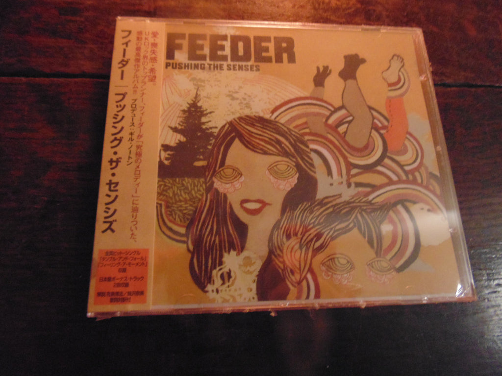 Feeder CD, Pushing the Senses, Japanese Import, Sealed w/ obi strip