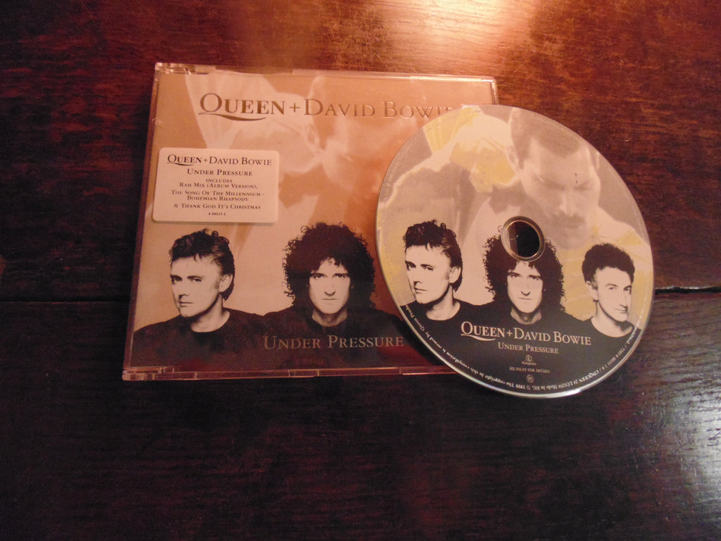 Queen + David Bowie CD Single, Under Pressure, Import