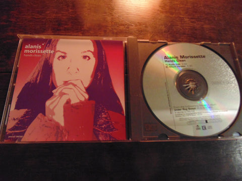 Alanis Morissette CD, Hands Clean, CD Single, w/ Printed Lyrics