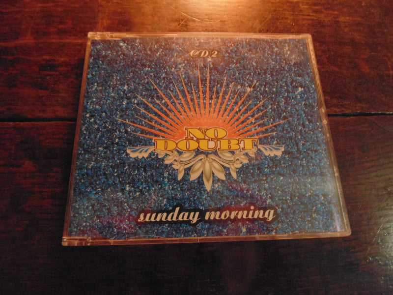 No Doubt, Gwen Stefani, Sunday Morning, CD Single, Slimline Case