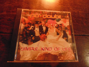 No Doubt, Gwen Stefani, Simple Kind of Life, CD Single, 3 TRKS