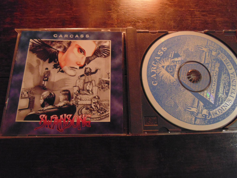 Carcass CD, Swansong, 1st Pressing, 1995 Earache Records