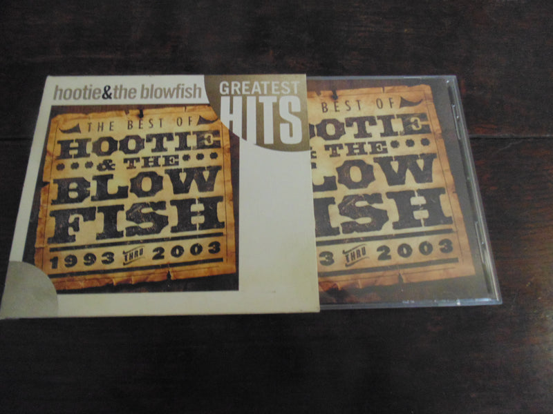 Hootie and the Blowfish CD, Greatest Hits 1993 thru 2003, Best of