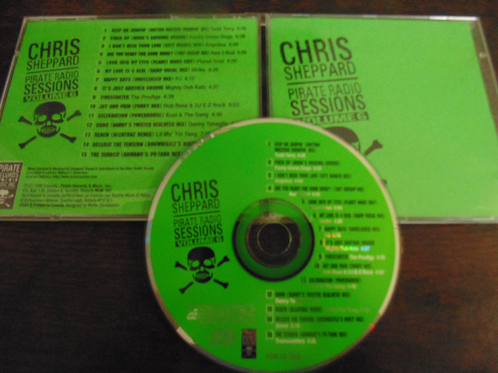 Chris Sheppard CD, Pirate Radio Sessions Volume 6