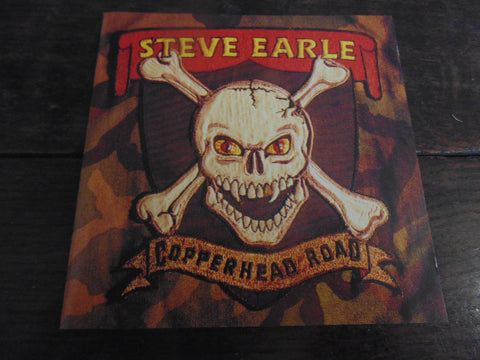Steve Earle CD, Copperhead Road