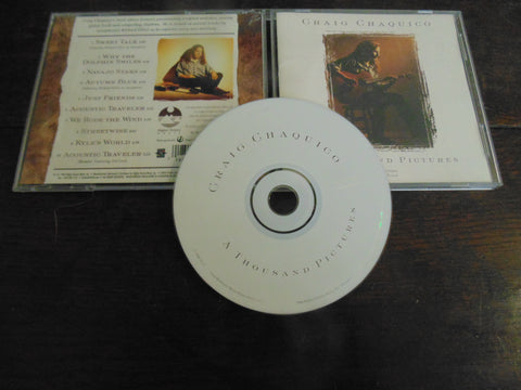 Craig Chaquico CD, A Thousand Pictures, Jefferson Starship