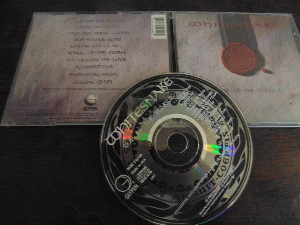 Whitesnake CD, Slip of the Tongue, Vai, Vandenberg, Deep Purple