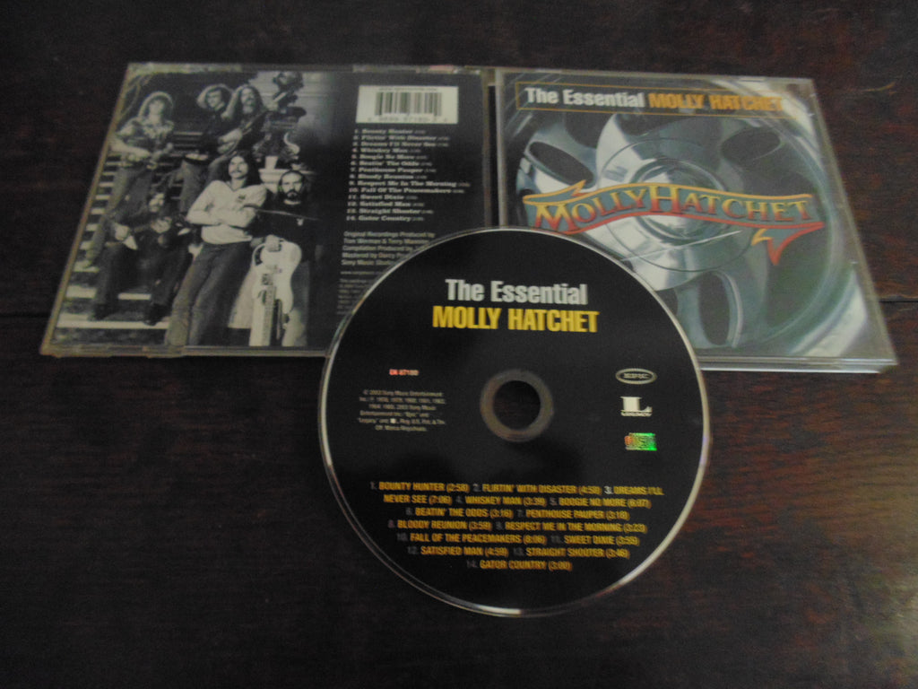 Molly Hatchet CD, The Essential, Best of , Greatest