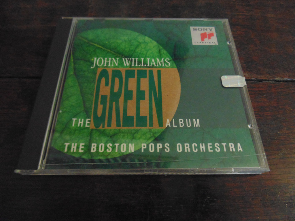 John Williams CD, The Green Album, The Boston Pops Orchestra, Star Wars