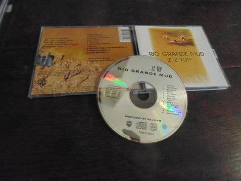 ZZ Top CD, Rio Grande Mud, UK Import