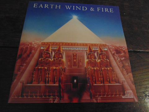 Earth, Wind & Fire CD, All n All, Original Release