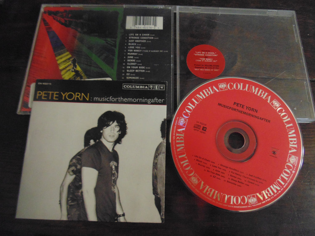 Pete Yorn CD, musicforthemorningafter