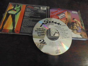 Sex Fiends CD, Under 21 Not Admitted, RARE Houston, TX Rap