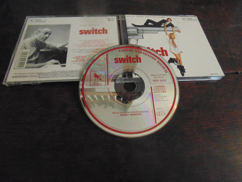 Switch CD, Soundtrack, Henry Mancini, Import