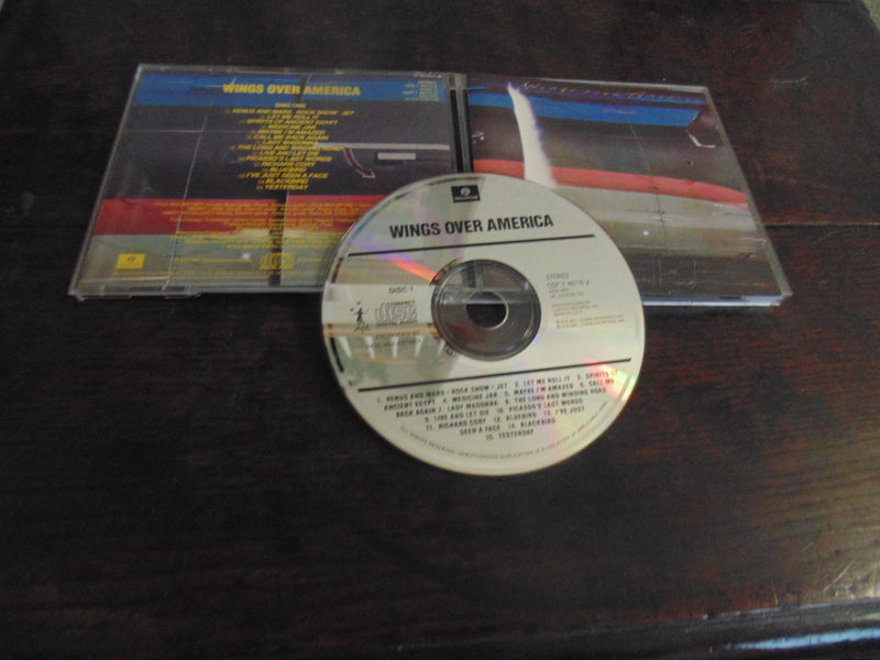 Wings Over America CD, Beatles, McCartney, Disc 1 only, CDP 7 46715 8
