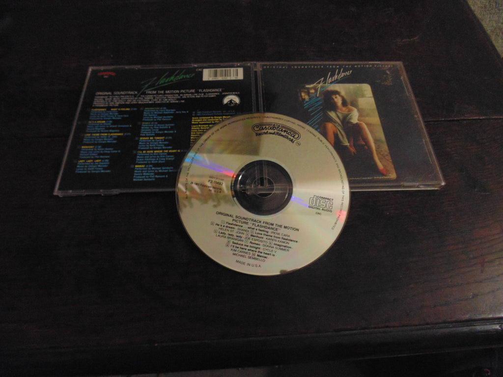 Flashdance CD, Original Soundtrack, Casablanca, Irene Cara, Laura Branigan, Kim Carnes, Donna Summer