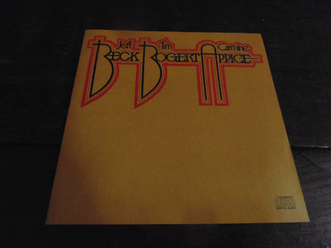 Jeff Beck, Tim Bogert, Carmine Appice CD, Beck Bogert Appice, Original Pressing
