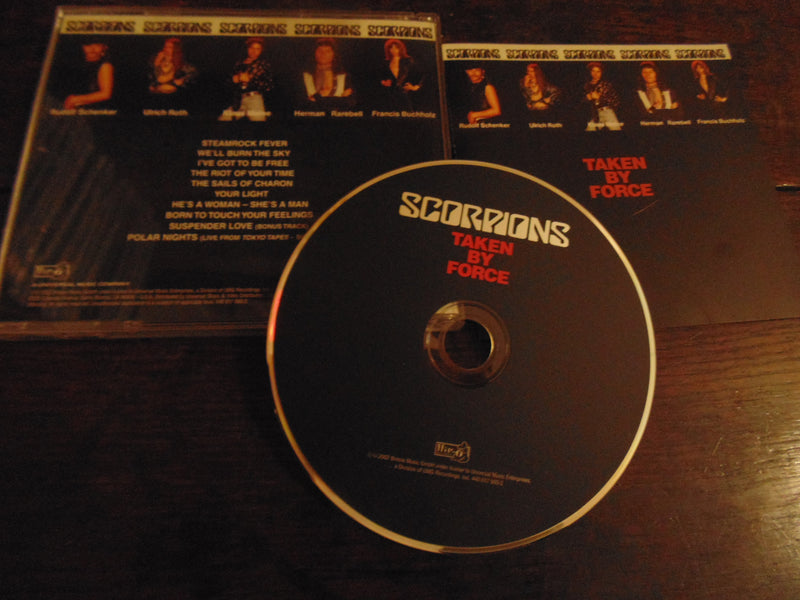 Scorpions CD, Taken by Force, Remastered, Uli Jon Roth