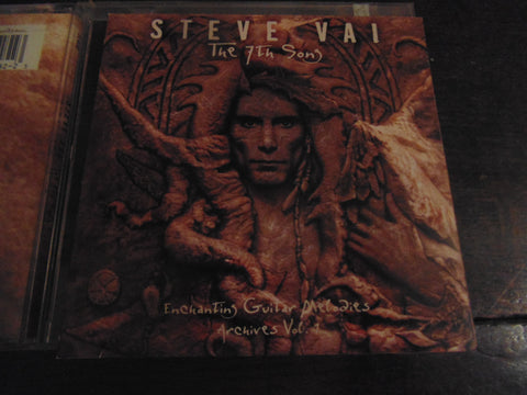 Steve Vai CD, The 7th Sons, Enchanting Guitar, Vol 2, Whitesnake, Roth