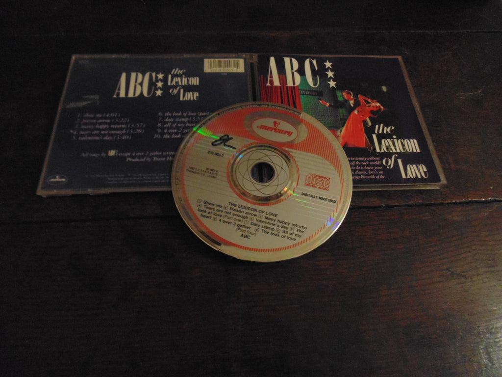 ABC CD, The Lexicon of Love, W. Germany, Original Mercury