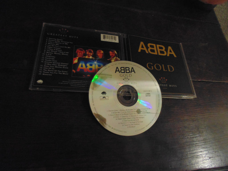 ABBA CD, Greatest Hits, GOLD