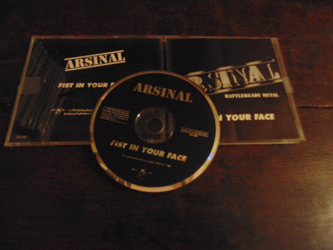 Arsinal CD, Fist in Your Face, Rare CD Single, Arsenal
