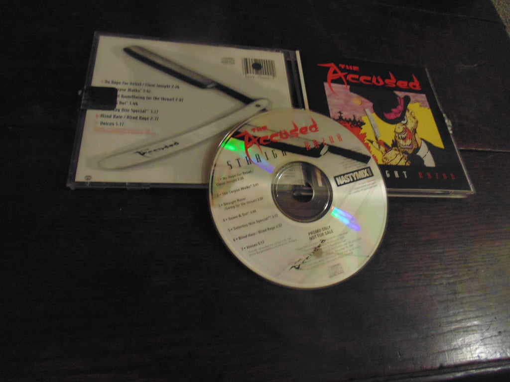 The Accused CD, Straight Razor, Nastymix Records